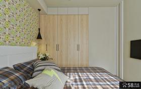 卧室木衣柜装修效果图片