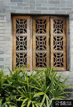 古典中式风格窗户效果图