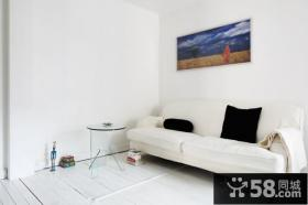 简约小户型客厅沙发装饰效果图