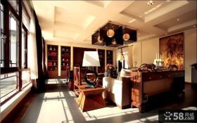 中式风格客厅装饰图片