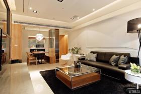 现代简约风格三室一厅装修效果图欣赏