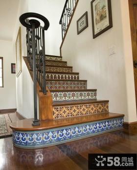 东南亚室内设计楼梯效果图欣赏大全
