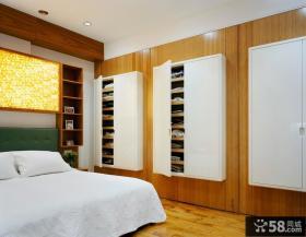 卧室入墙式衣柜图片