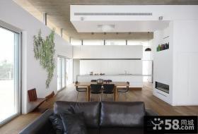 复式楼餐厅装修效果图大全2012图片