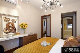 东南亚卧室样板房装饰图片