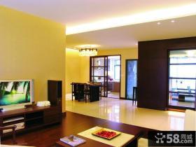 现代客厅背景墙设计图片