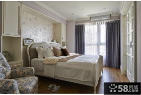 简欧风格家居卧室效果图欣赏