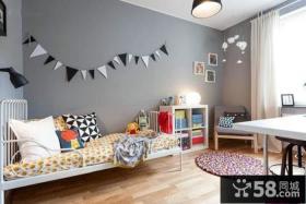 2014家装设计室内儿童房效果图欣赏大全