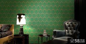 室内设计卧室墙纸效果图