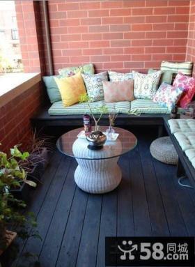 家庭小阳台装修效果图片