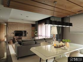 北欧家装室内餐厅设计效果图