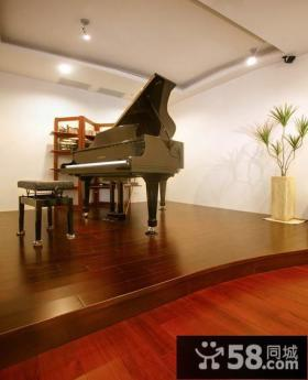美式家居琴房装修展示