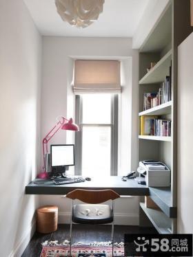 3平米阳台变书房装修效果图