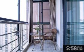 都市家居小阳台设计装修