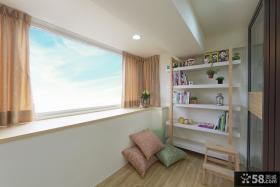 日式室内阳台设计装修图片