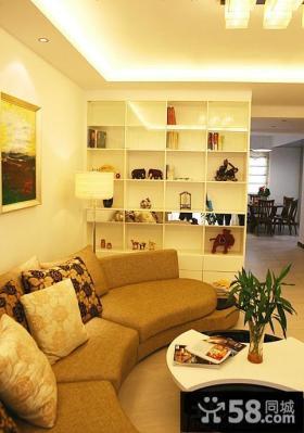 简约风格三室两厅客厅装修效果图欣赏