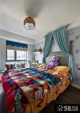 美式现代卧室室内效果图片