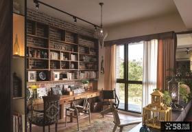 美式乡村风格设计室内窗户效果图片