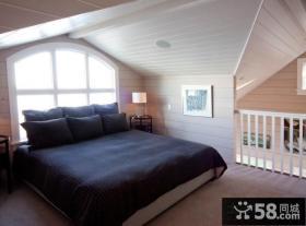 复式楼卧室装修效果图