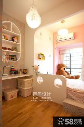 现代风格儿童房间小卧室设计图片
