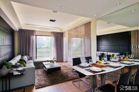现代风格家装客厅整体装修图片