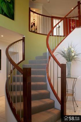 实木楼梯图片设计大全