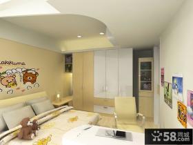 130平米现代风格儿童房家居装修效果图