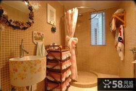 美式田园风格家居卫生间装修设计