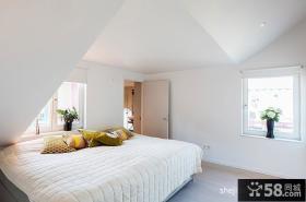现代时尚阁楼主卧室装修效果图大全2013图片