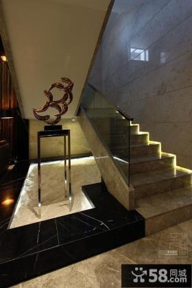 家装复式室内楼梯装修图片