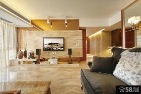 客厅背景墙装修效果图大全2013图