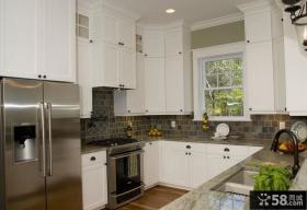 欧式乡村厨房装修效果图大全2012图片