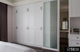 简约卧室设计室内衣柜装修图片