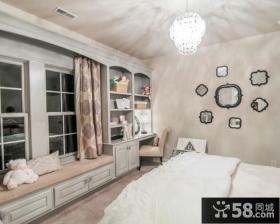 宜家装修卧室飘窗图片欣赏