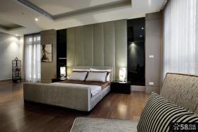 现代简约设计时尚卧室效果图大全