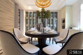现代别墅室内餐厅设计效果图片