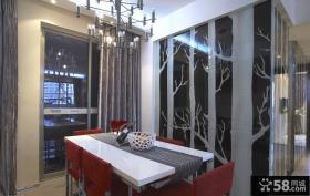 现代家居餐厅壁纸图片