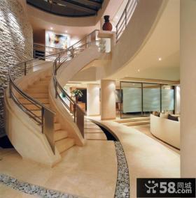 豪华别墅楼梯装修图片