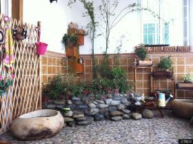 阳台入户花园效果图