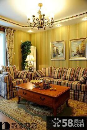 美式风格两室一厅装修图