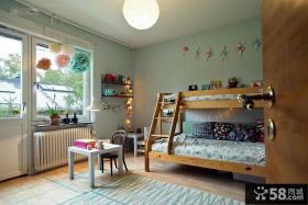 美式设计室内儿童房效果图大全