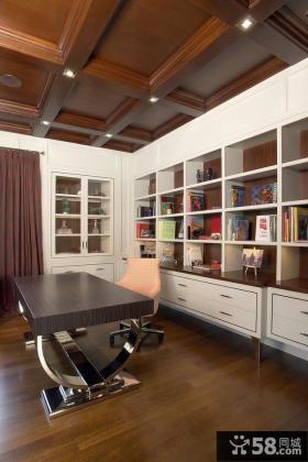 家庭书房装修设计效果图