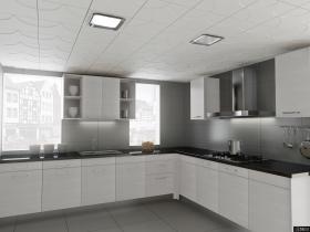 厨房铝扣板集成吊顶贴图