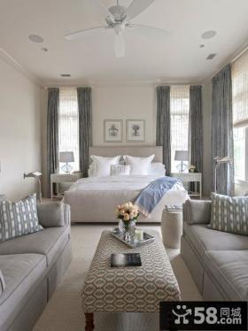 北欧家装设计室内卧室效果图大全