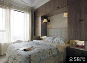 美式风格简约卧室装修图片欣赏