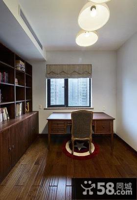 美式风格田园风光书房设计