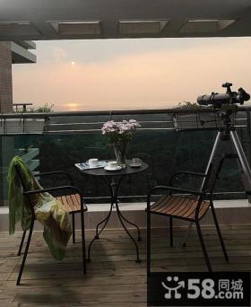 复古设计室内阳台装修图