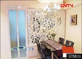 交换空间欧式现代风格餐厅雕花背景墙装修