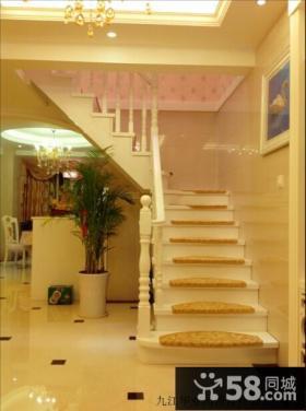 欧式家庭楼梯装修效果图片欣赏