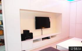 现代时尚电视背景墙装修图片